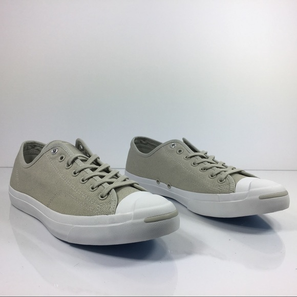 e9f8a2d2819bbe Converse Jack Purcell OX Grey Canvas White